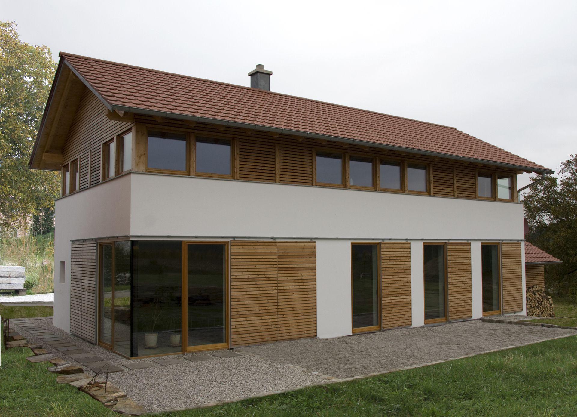 modernes bauernhaus in l ndlicher umgebung niederbayern. Black Bedroom Furniture Sets. Home Design Ideas