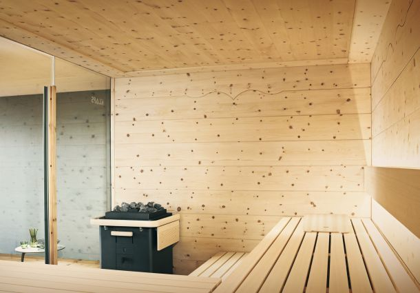 sauna zu hause. Black Bedroom Furniture Sets. Home Design Ideas