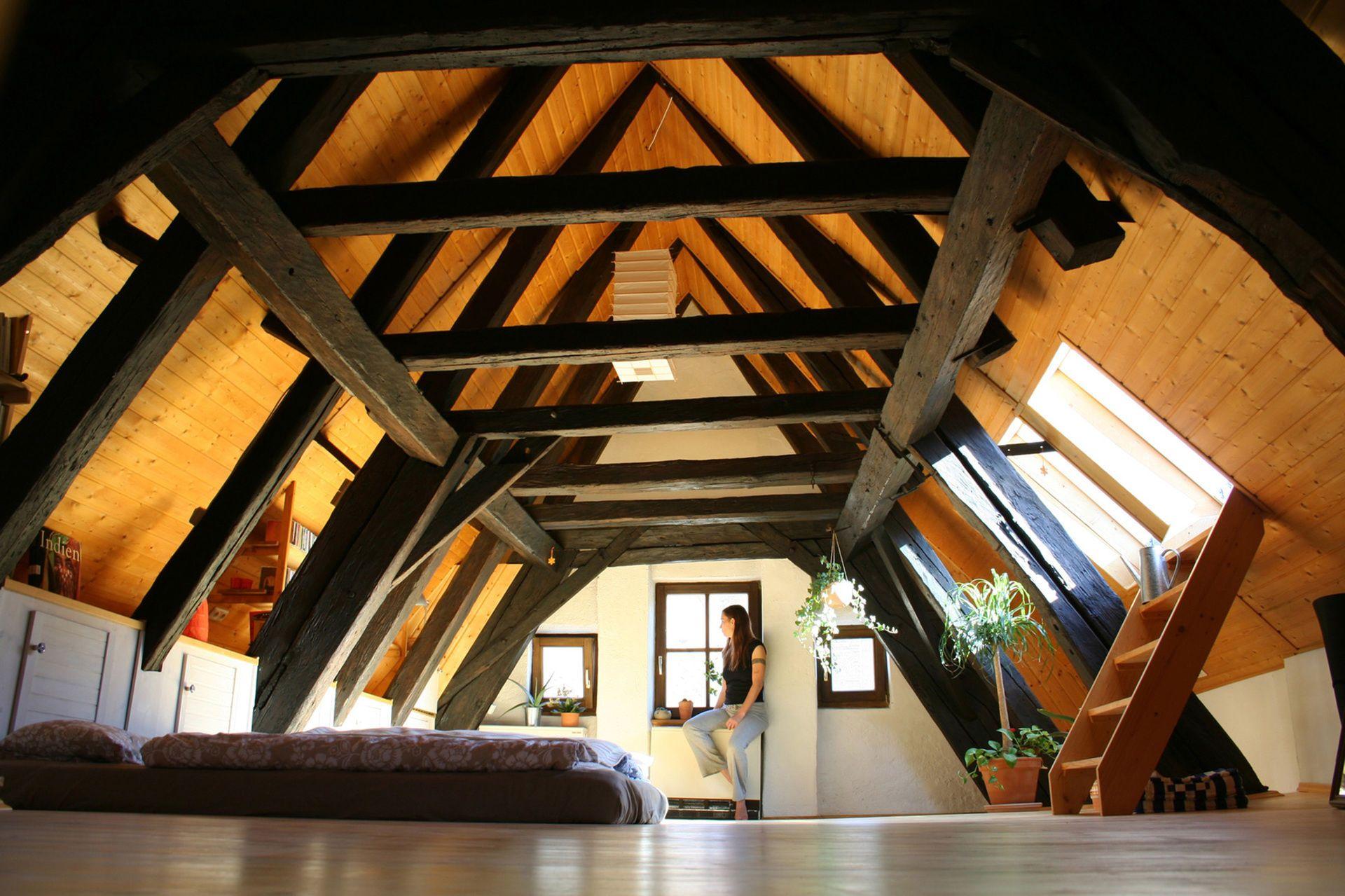 Dachausbau Viel Wohnraum Unter Dem Dach Bauemotion De