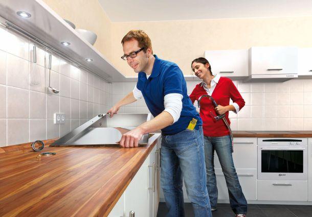 küche und bad reparatur ist einfacher als gedacht  ~ Spülbecken In Arbeitsplatte Einbauen