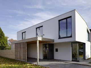 Haus Eingang hauseingang mit carport aus holz bauemotion de