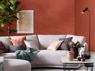 Warme Wandfarben: Knalliges Für Mutige
