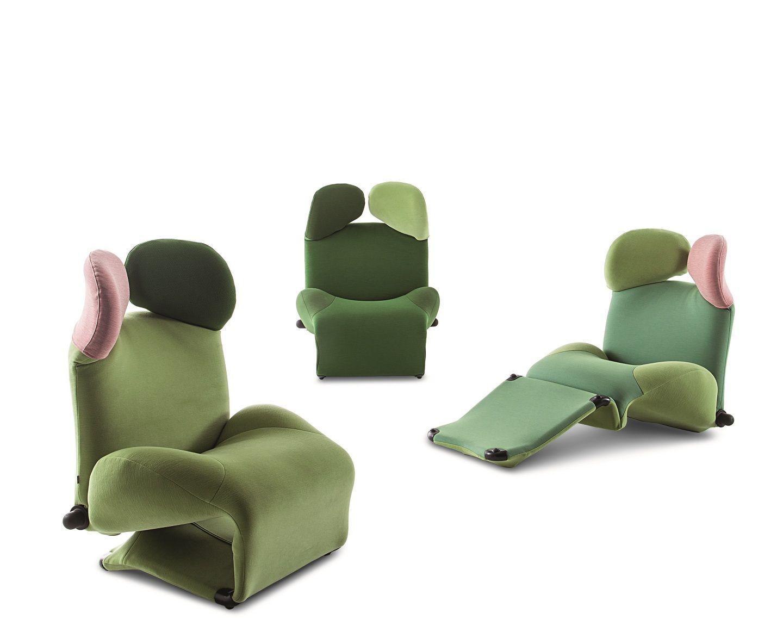 wink von cassina in neuem gewand. Black Bedroom Furniture Sets. Home Design Ideas