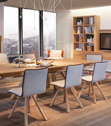 der esstisch kommunikationsort mit stil. Black Bedroom Furniture Sets. Home Design Ideas