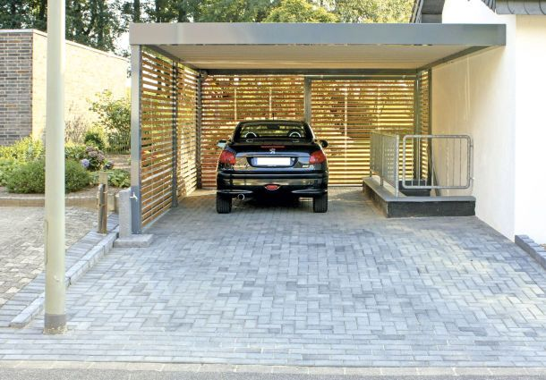 carport bauen. Black Bedroom Furniture Sets. Home Design Ideas
