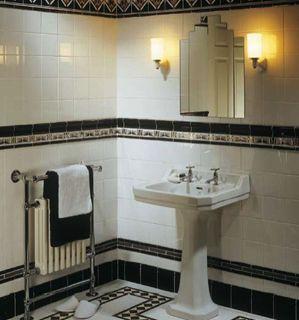 Fesselnd Retro Design Der 20er: Art Déco Im Badezimmer