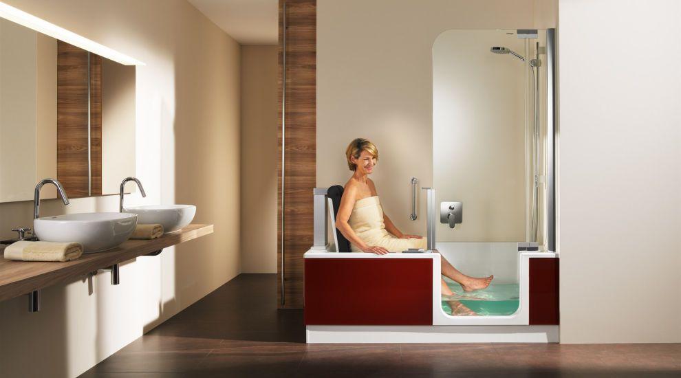Dusche Umbauen Ebenerdig : Fotos v.o.n.u. und ggf. spaltenweise: SCHNEIDER-MOSOLF MOEBEL