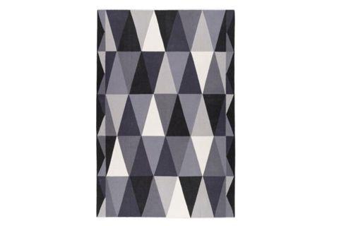 Teppich retro  Retro-Design der 20er: Geometrischer Teppich - bauemotion.de