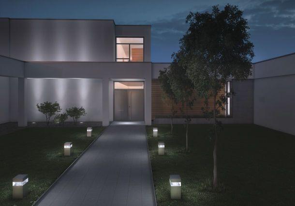 licht gegen dunkle gestalten einbruchschutz im winter. Black Bedroom Furniture Sets. Home Design Ideas