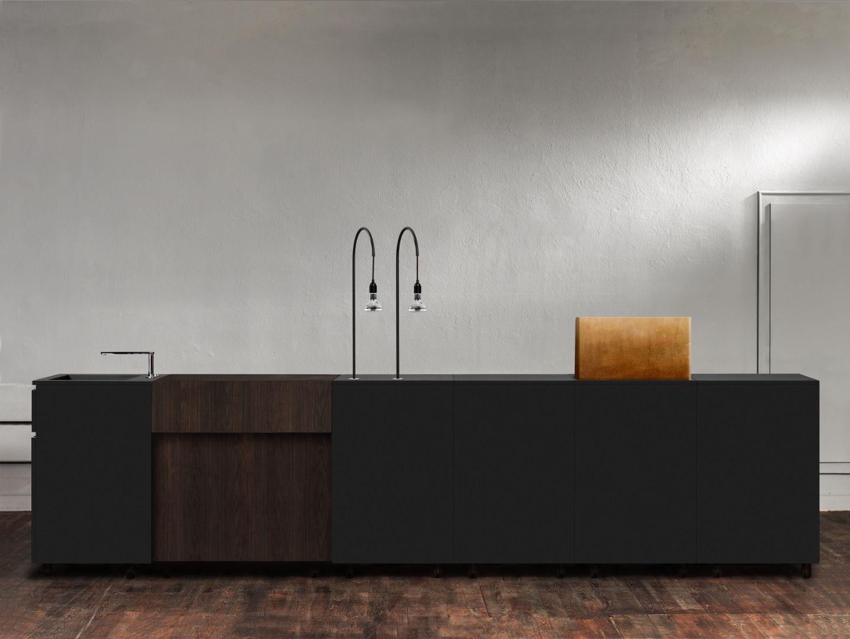 k che design line black by supergrau. Black Bedroom Furniture Sets. Home Design Ideas