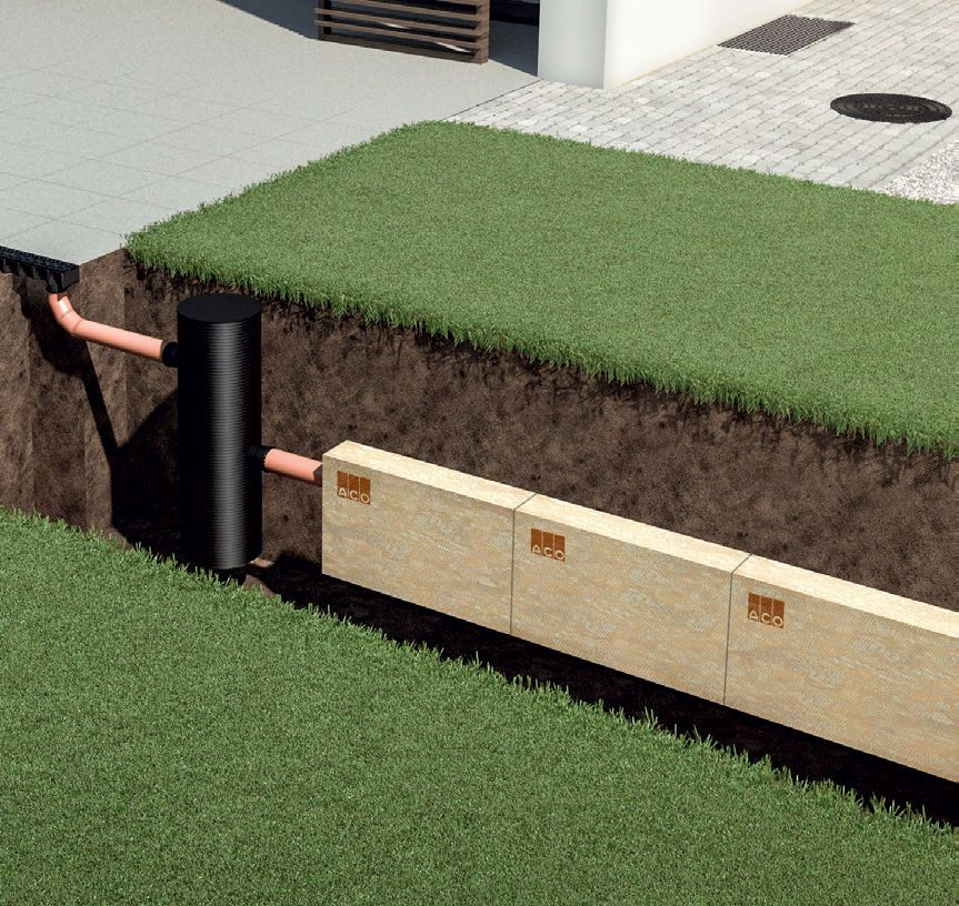versickerung f r ihren garten. Black Bedroom Furniture Sets. Home Design Ideas